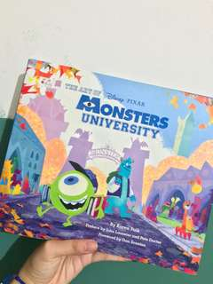 Monster University Artbook