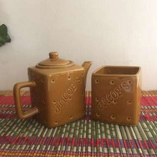 Jacobs Teapot and cup set