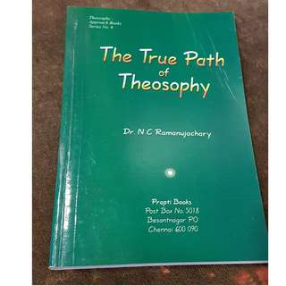 C82 BOOK - THE TRUE PATH OF THEOSOPHT