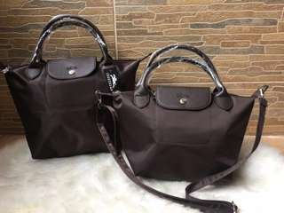 LONGCHAMP LAKU KERAS (BROWN)