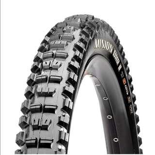 🆕! Maxxis 26 X 2.3 Minion DHF & DHR II MTB Tyres - 3C - EXO - Tubeless Ready             ( 2 Tyres)    #OK
