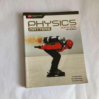 {NEW} Physics Matters GCE 'O' level 4th edition Marshall Cavendish