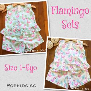 🍀INSTOCK - Flamingo Sets 🍀