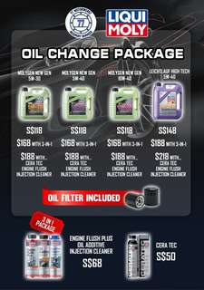 Engine Oil Packages!