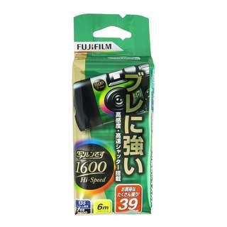 Fujifilm Hi-Speed Disposable Camera ISO1600 (39 Exposures)