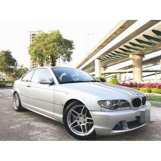 2004年 BMW 320CI 市場稀有六缸2.2 內裝綿密 電動座椅 魚眼頭燈 M版大包