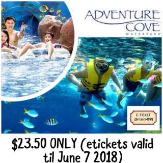 Adventure Cove 1-Day Admission Etickets
