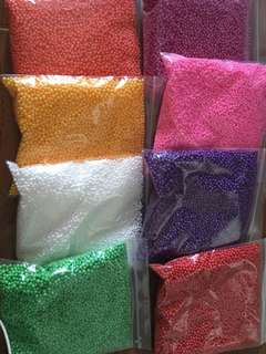 Styrofoam Beads - Slime