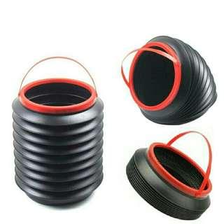 Portable Car Container Bin/ Foldable Trash Bin/ Camping Water Pail