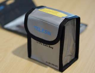 Mavic Pro - Telesin Li-Po Safe Storage Bag for Mavic Battery
