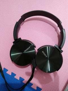 Headset handsfree sony