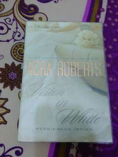 Novel Nora Roberts vision in white