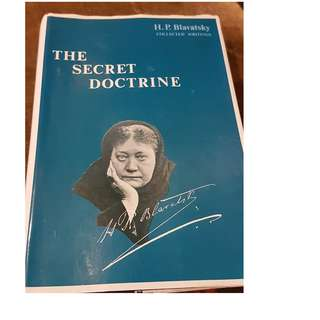 C85 BOOK - THE SECRET DOCTRINE V1-3 BY  H.P. BLAVATSKY
