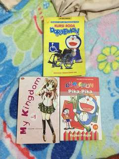 komik my kingdom doraemon