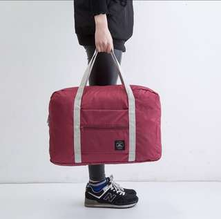 4 Colours - Korean Foldable Hand Carry Travel Cabin Bag Pouch