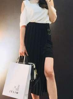 Black Long-Short Skirt