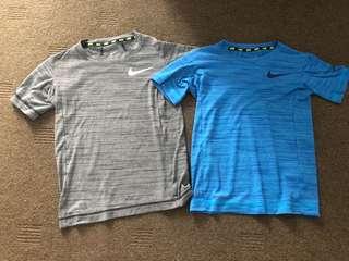 Boys Nike size xs rrp$40 each