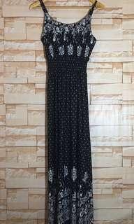 Brand New Black and White Sundress