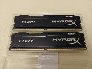 DDR4 16GB Ram Kingston HyperX Fury