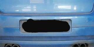 VW GOLF GTI Mk5 Vortex Rear Bumper