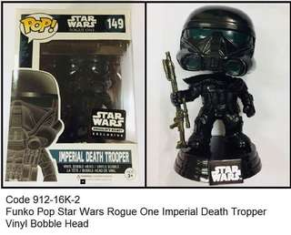 FUNKO STAR WARS ROGUE ONE IMPERIAL DEATH TROPPER BOBBLE HEAD
