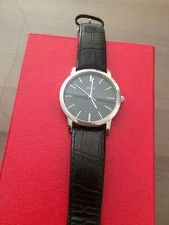Jam tangan quess bak hitam