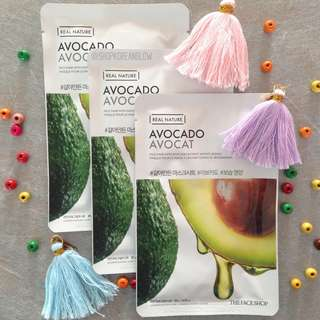 The Face Shop Real Nature Mask Avocado