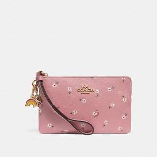 Coach Wristlet with charms