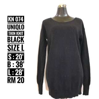 Uniqlo Knitted Top - KN 074