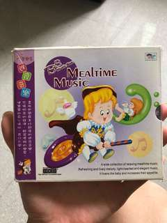 Mealtime music CD