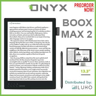 """🚚 [BNIB] Preorder! ONYX BOOX MAX 2 13.3"""" Android Reader with HDMI"""