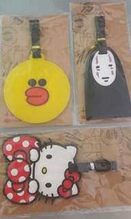 Luggage Tag - Hello kitty, LINE & Spirited away