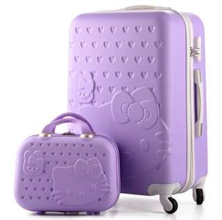 ❗️Promo full set @ $89 with FREE Hello Kitty luggage cover❗️Brand New Adorable Hello Kitty luggage set. Ideal as 🎁gifts or for your own use❗️Do refer to photos & descriptions on my ad