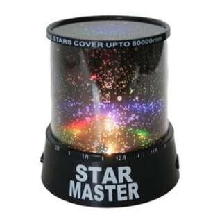 Star Master Music ( lampu tidur proyektor warna warni