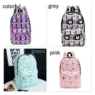 Various Cats Design backpack /School bag for Her