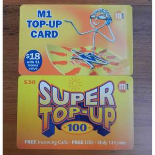 Telco Top-Up Cards