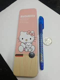 Hello Kitty metal pencil case rm3 NEW