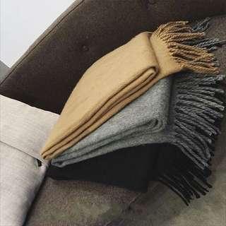 🚚 全新柔軟灰色大圍巾