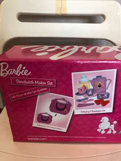 Barbie sandwich maker set BN