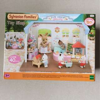 Brand New Sylvanian Families Toy Shop