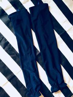 BN niqab long sleeves gloves (dark blue)