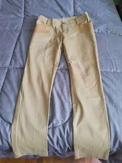 Khaki long pants