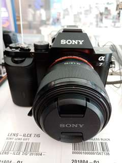 Cicilan Tanpa CC Tanpa DP Sony IlCE 7
