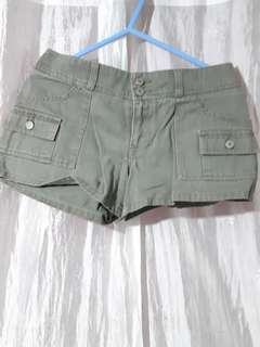 Rue 21 Army Green Shorts
