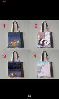 We Bare Bear Tote Bag Totebag