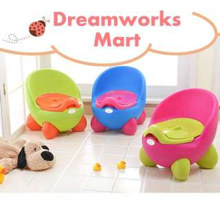 Mixed Colors Baby Potty | Toilet Seat c/w Free Potty Brush