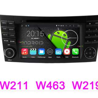 MERCEDES BENZ W211 ANDROID DVD PLAYER