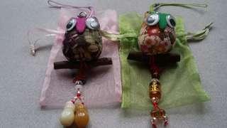 Owl Stuffed Charms