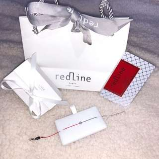 Redline 五分圓鑽半繩半鏈 Mini Pure double chain and string bracelet