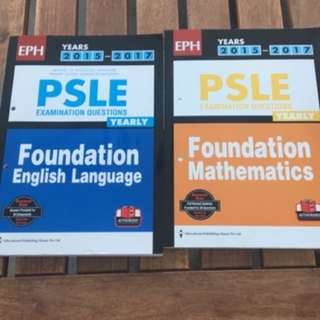 PSLE PAST YEAR PAPER
